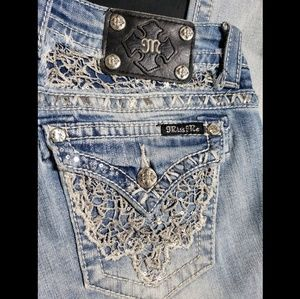 Miss Me💝 Signature Bootcut bling jeans